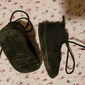 Black Air Jordans  Size 5C